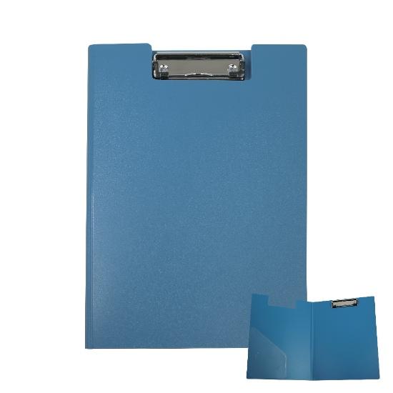 PORTABLOCCO PVC C/COPER. A4 1424 BLU