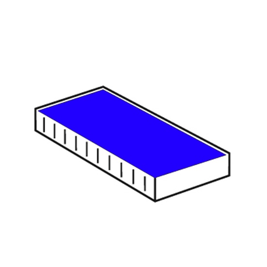 CF. 10 CUSCINETTO X POLINOMIO 7822 25x5mm 7/7820 BLU