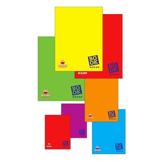 CF. 10 BLOCCHI NOTES BOOK 50fogli A QUADRETTI 5mm f.to 9,3X13