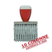 NUMERATORE GOMMA mm.5/10COLONNE COD.0510
