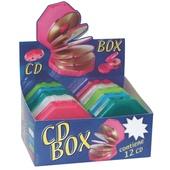 ESP. 10 CD BOX 12pz. RIGIDO TRASP.