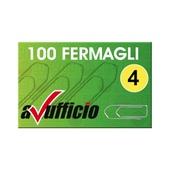 CONF. 10 SCATOLE FERMAGLI 33mm N. 4