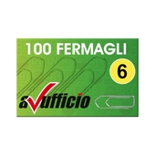 CONF. 10 SCATOLE FERMAGLI  56mm N. 6