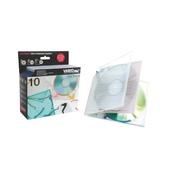CF.10PZ. BOOKLETBOX PER CD-DVD VARIOPAC