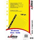 CF.100 BUSTE A FORATURA UNIVERSALE LISCIO 010