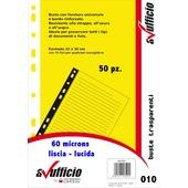 CONF.50 BUSTE A FORATURA UNIVERSALE LISCIO 010