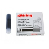 ROTRING CF. 5 CARTUCCE ISOGRAPH BK S0215630