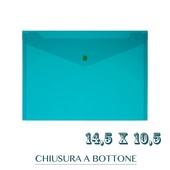 CF. 5 BUSTE C/BOTTONE f.to 14.5X10.5 VERDE